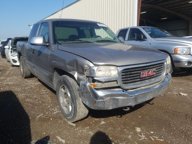 Salvage trucks for sale at Houston, TX auction: 2001 GMC New Sierra