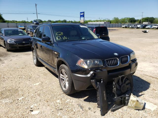 Salvage cars for sale from Copart Newton, AL: 2005 BMW X3 3.0I