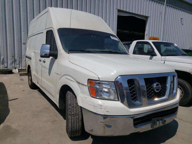 Salvage cars for sale from Copart Windsor, NJ: 2012 Nissan NV 2500