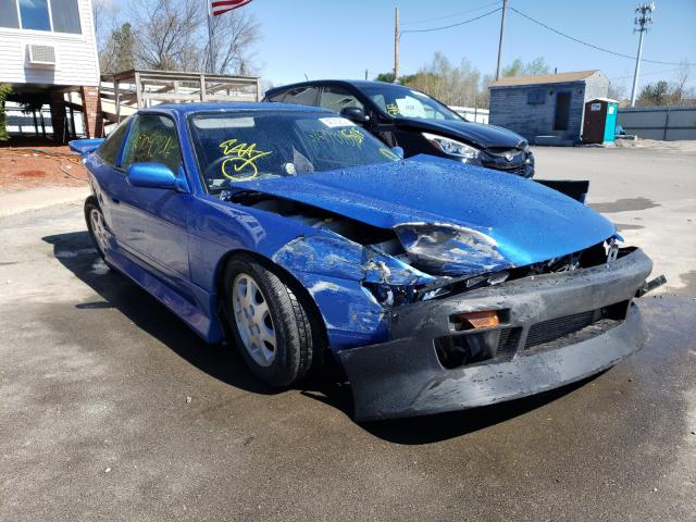 Salvage cars for sale at Billerica, MA auction: 1994 Nissan 180SX