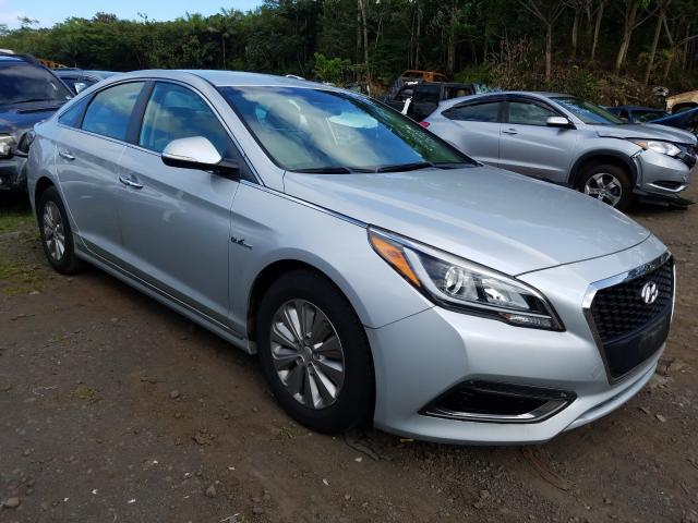 Salvage cars for sale from Copart Kapolei, HI: 2017 Hyundai Sonata Hybrid