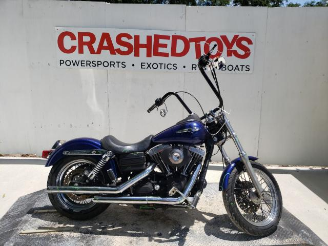 Salvage cars for sale from Copart Ocala, FL: 2006 Harley-Davidson Fxdbi