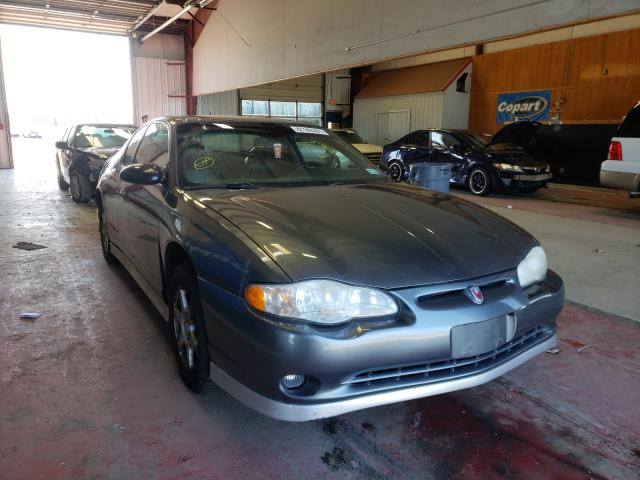 Salvage cars for sale from Copart Angola, NY: 2005 Chevrolet Monte Carl