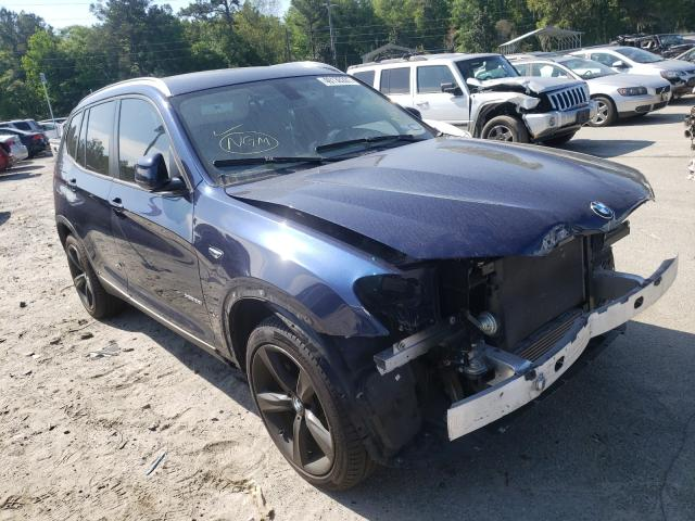 Salvage cars for sale from Copart Savannah, GA: 2017 BMW X3 XDRIVE2