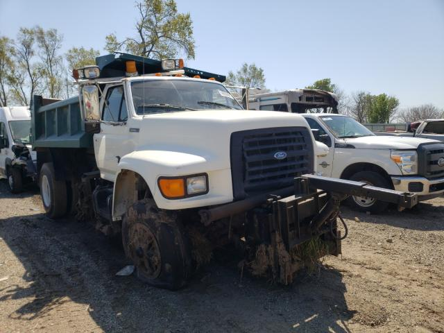 Ford F700 salvage cars for sale: 1995 Ford F700