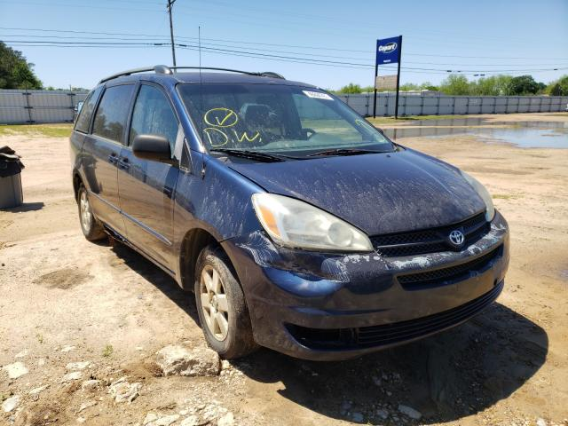 Salvage cars for sale from Copart Newton, AL: 2004 Toyota Sienna