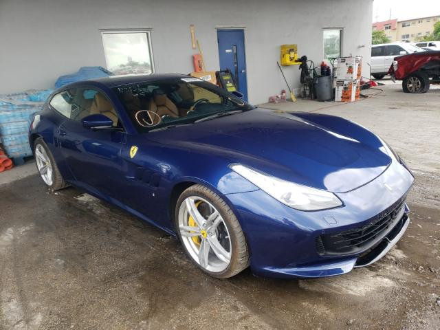 Salvage cars for sale from Copart Opa Locka, FL: 2019 Ferrari GTC4 Lusso