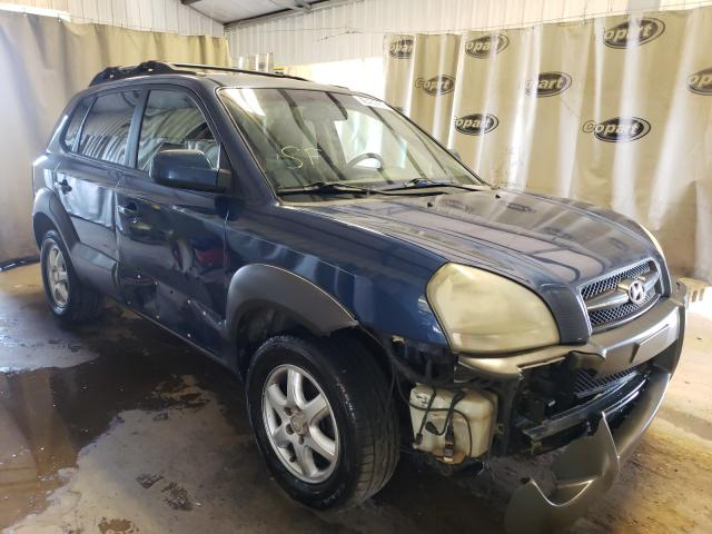 Salvage cars for sale from Copart Tifton, GA: 2005 Hyundai Tucson GLS