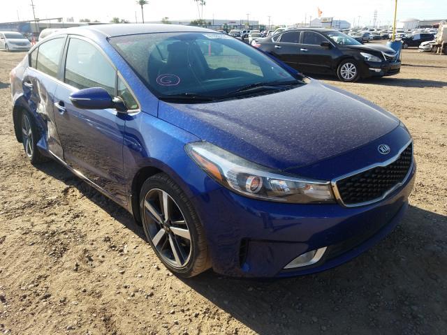 Salvage cars for sale from Copart Phoenix, AZ: 2017 KIA Forte EX