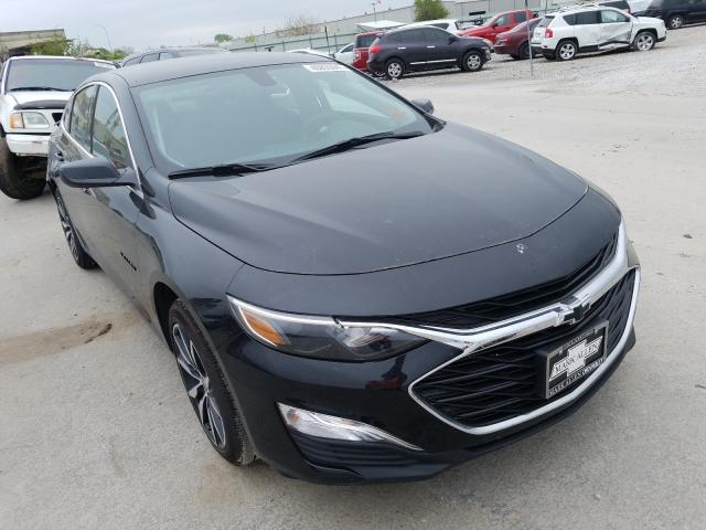 Salvage cars for sale from Copart Tulsa, OK: 2021 Chevrolet Malibu RS