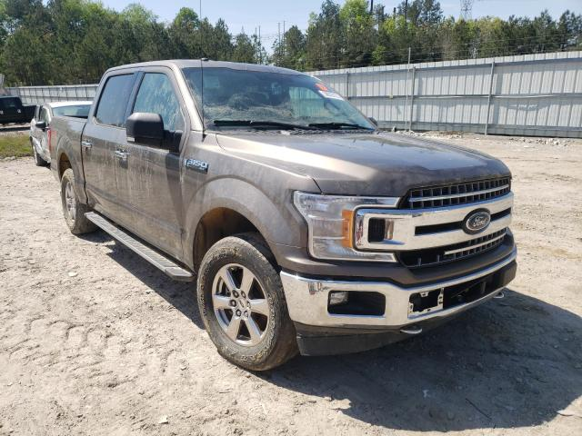 Salvage cars for sale from Copart Charles City, VA: 2018 Ford F150 Super