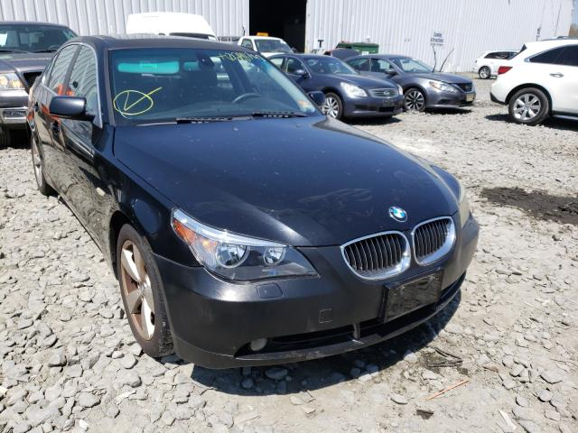 Salvage cars for sale from Copart Windsor, NJ: 2006 BMW 530 XI