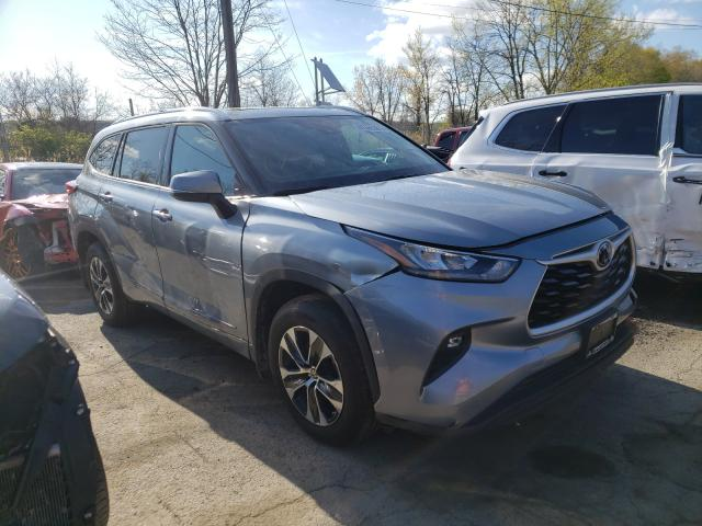 Salvage cars for sale from Copart Marlboro, NY: 2020 Toyota Highlander