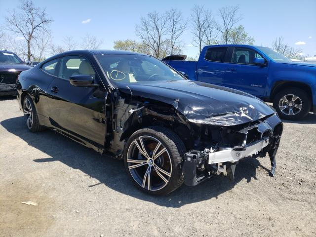 Salvage cars for sale from Copart Marlboro, NY: 2021 BMW 430XI