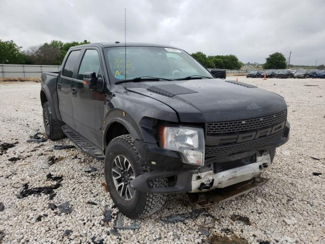 Ford F150 SVT R salvage cars for sale: 2012 Ford F150 SVT R