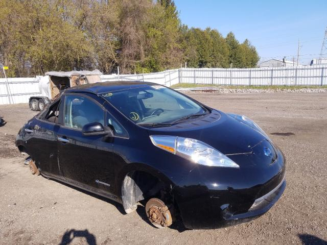 Salvage cars for sale from Copart London, ON: 2016 Nissan Leaf SV