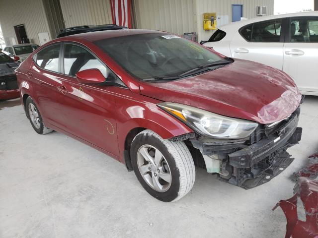 Salvage cars for sale from Copart Homestead, FL: 2015 Hyundai Elantra SE