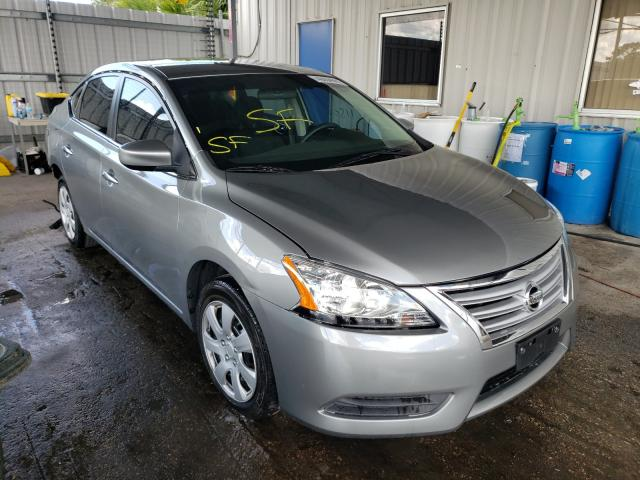 2014 NISSAN SENTRA S 3N1AB7APXEY224752