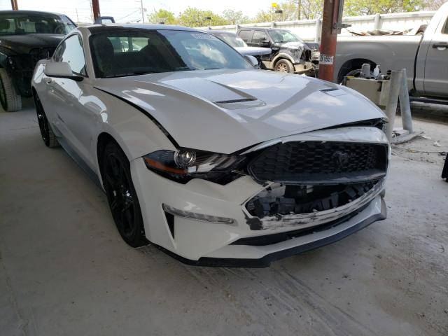 Salvage cars for sale from Copart Homestead, FL: 2019 Ford Mustang