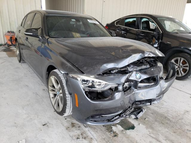 Salvage cars for sale from Copart Homestead, FL: 2016 BMW 328 I Sulev