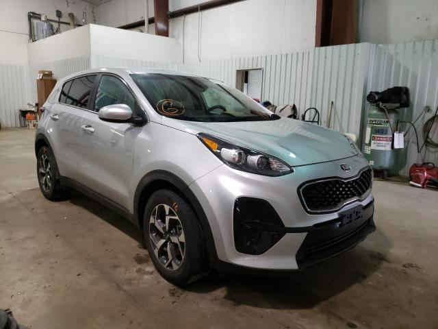 Salvage cars for sale from Copart Lufkin, TX: 2020 KIA Sportage L