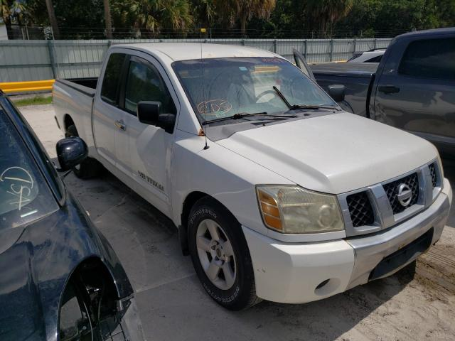 Nissan salvage cars for sale: 2006 Nissan Titan XE