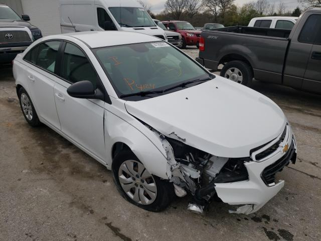Salvage 2016 CHEVROLET CRUZE - Small image. Lot 41258931