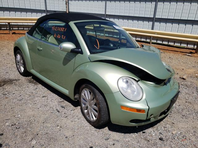Salvage cars for sale from Copart Chatham, VA: 2008 Volkswagen New Beetle