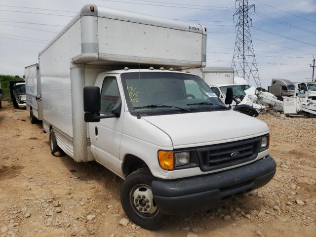 Salvage cars for sale from Copart China Grove, NC: 2007 Ford Econoline