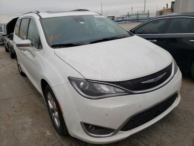 Salvage cars for sale from Copart Tulsa, OK: 2017 Chrysler Pacifica L