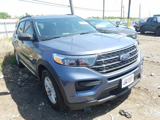 Salvage cars for sale from Copart Houston, TX: 2021 Ford Explorer X