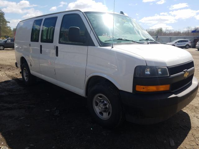 Salvage cars for sale from Copart Lyman, ME: 2019 Chevrolet Express G2