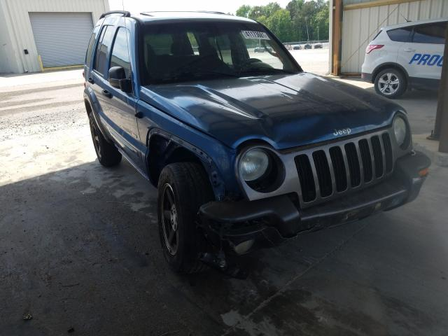 Salvage cars for sale from Copart Gaston, SC: 2003 Jeep Liberty SP