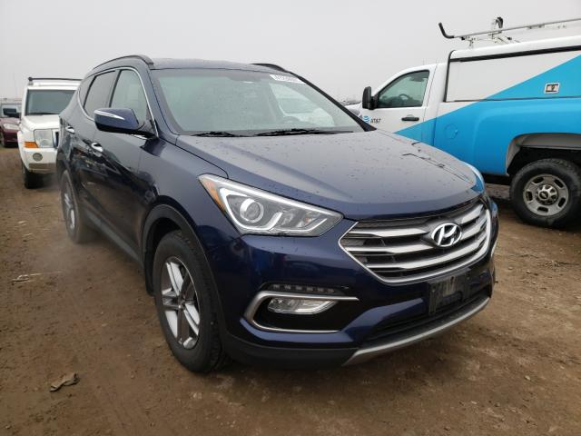 Hyundai salvage cars for sale: 2018 Hyundai Santa FE S