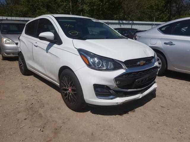 Salvage cars for sale from Copart Glassboro, NJ: 2019 Chevrolet Spark 1LT