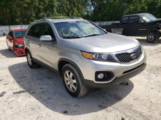 Salvage cars for sale from Copart Ocala, FL: 2012 KIA Sorento BA