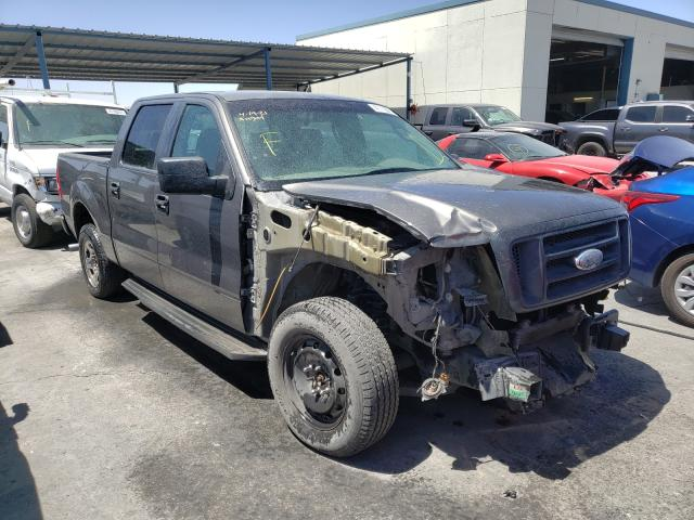 Salvage cars for sale from Copart Anthony, TX: 2008 Ford F150 Super