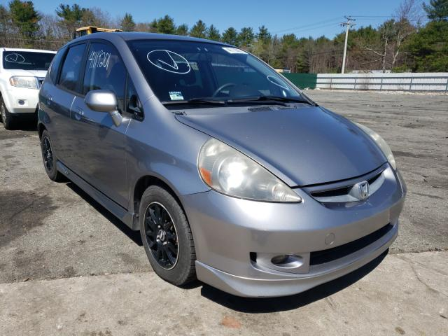 Salvage cars for sale from Copart Exeter, RI: 2007 Honda FIT S