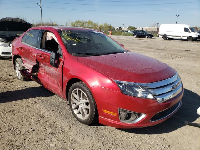 Salvage cars for sale at Indianapolis, IN auction: 2012 Ford Fusion SEL