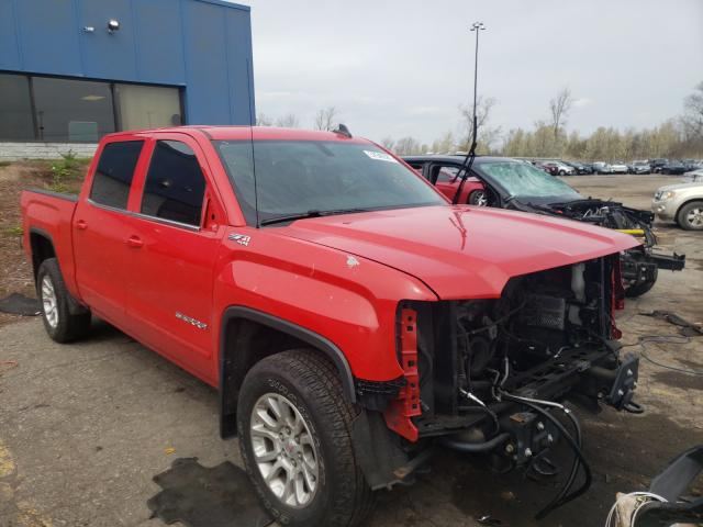Salvage cars for sale from Copart Woodhaven, MI: 2017 GMC Sierra K15