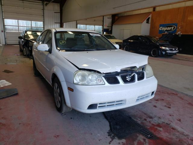 Salvage cars for sale from Copart Angola, NY: 2004 Suzuki Forenza S