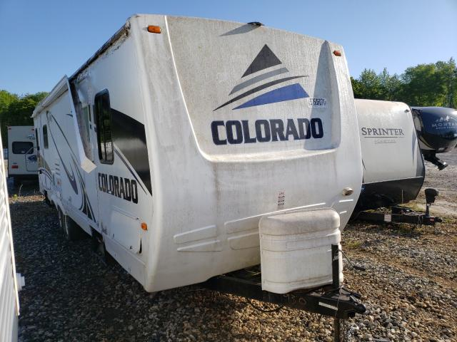 Salvage cars for sale from Copart Spartanburg, SC: 2005 Colorado Travel Trailer