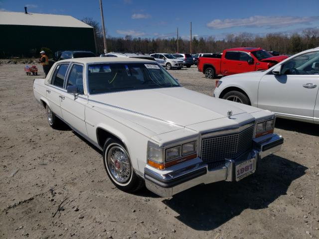 Cadillac Brougham salvage cars for sale: 1987 Cadillac Brougham