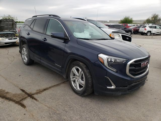 Salvage cars for sale from Copart Tulsa, OK: 2018 GMC Terrain SL