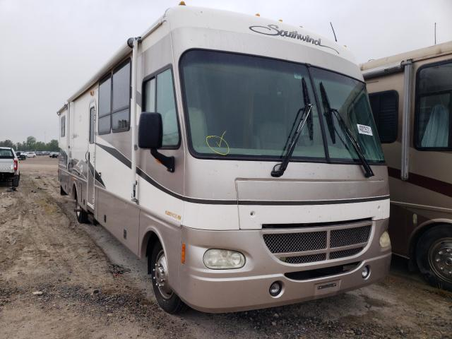 Ford Motorhome salvage cars for sale: 2001 Ford Motorhome