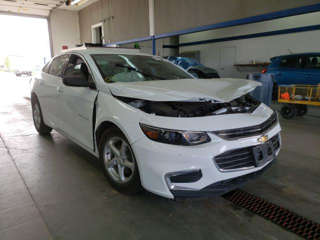 Salvage cars for sale from Copart Pasco, WA: 2016 Chevrolet Malibu LS