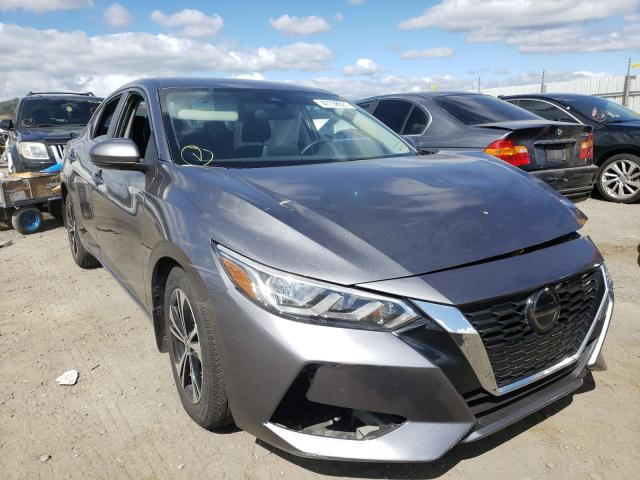 Salvage cars for sale from Copart San Martin, CA: 2020 Nissan Sentra SV