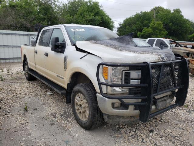 Salvage cars for sale from Copart Corpus Christi, TX: 2017 Ford F350 Super