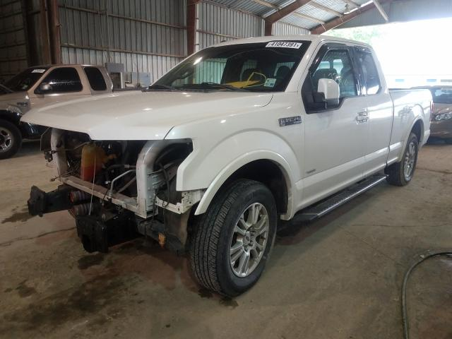 2016 FORD F150 SUPER 1FTEX1CPXGKD07920