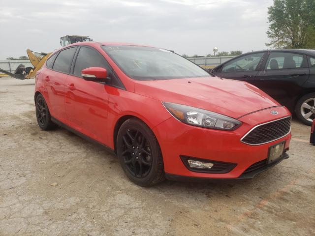Salvage cars for sale from Copart Wichita, KS: 2016 Ford Focus SE
